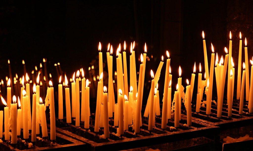 Abendmesse mit Kerzensegnung