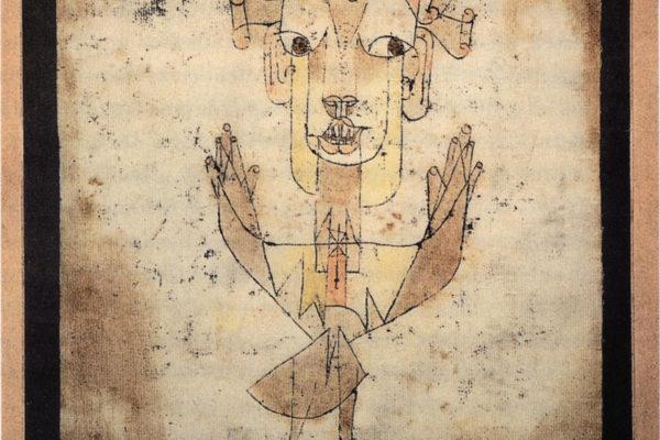 Paul Klee - Angelus Novus - 1920 - Bild: public domain
