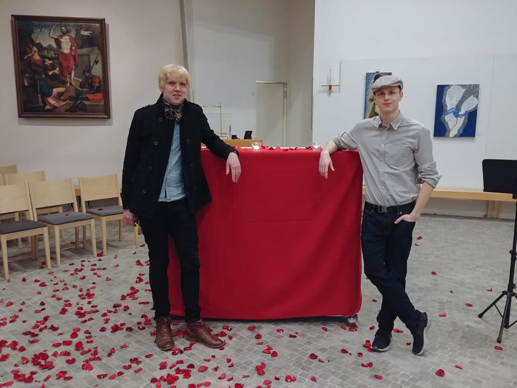 Valentinstag 2020 - Andreas Winkler und Jakob Kühl