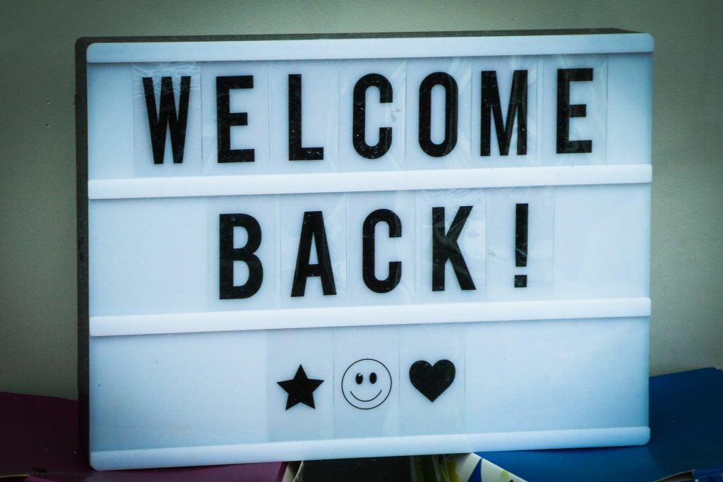 Welcome back – Gottesdienst
